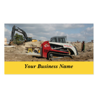 Construction and Contractor Business Card