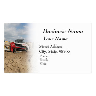Construction and Contractor Business Cards