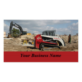 Construction and Contractor Pack Of Standard Business Cards