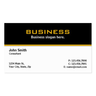Construction Builder Contractor Mechanic Plain Pack Of Standard Business Cards