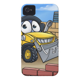 Construction Building Site Scene iPhone 4 Cover