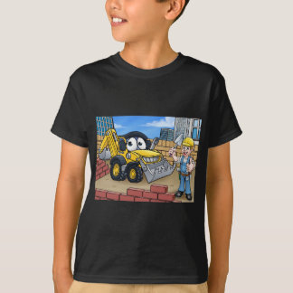 Construction Building Site Scene T-Shirt