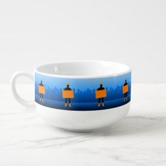 Construction Business Soup Mug