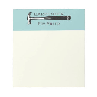 Construction Carpenter Handyman Notepads