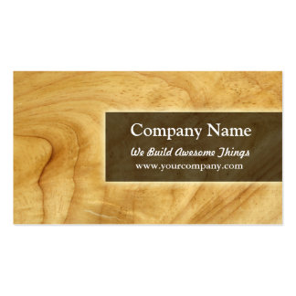 construction/carpentry pack of standard business cards
