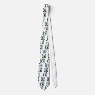 Construction Cartoon 1941 Tie
