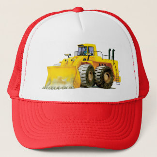 Construction Digger Loader Trucker Hat