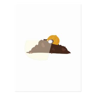 Construction Dirt Postcard