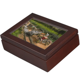Construction - Dumping made easy 1925 Keepsake Box