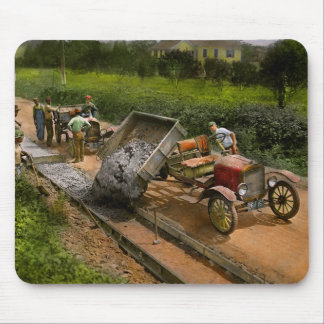 Construction - Dumping made easy 1925 Mouse Pad
