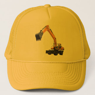 Construction Excavator Trucker Hat