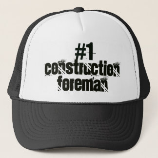 Construction Foreman Trucker Hat