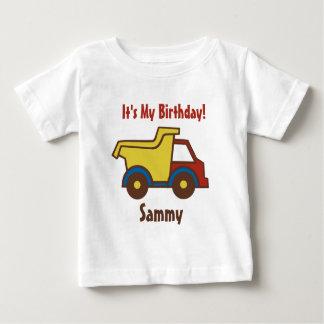Construction Fun Dump Truck Baby T-Shirt