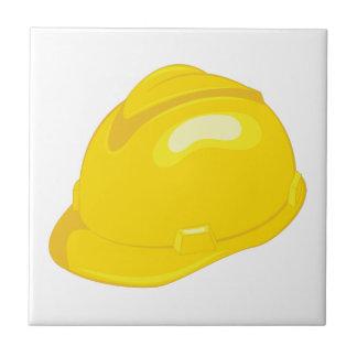 Construction Helmet Ceramic Tile