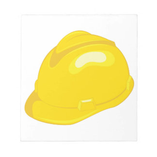Construction Helmet Notepad