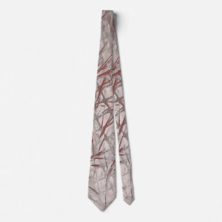 Construction in Rust and Gray Tie