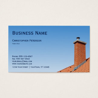 Construction - Masonry Business Card