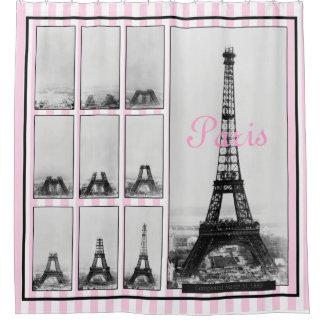 Construction of Gustav Eiffel's Tower in Paris