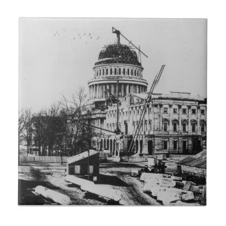 Construction of the U.S. Capitol Dome Ceramic Tiles