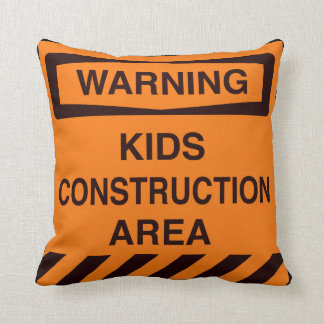 Construction Pillow