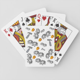 Construction Playing Card Deck