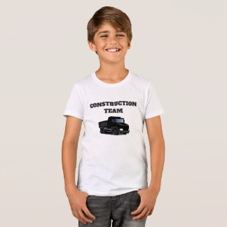 Construction Team Dump Truck Funny Novelty T-Shirt