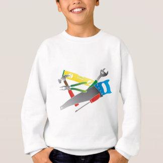 Construction Tools Colors Illustration Sweatshirt