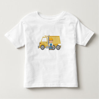 Construction Truck Toddler T-shirt