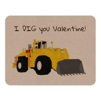 Construction Valentine Card