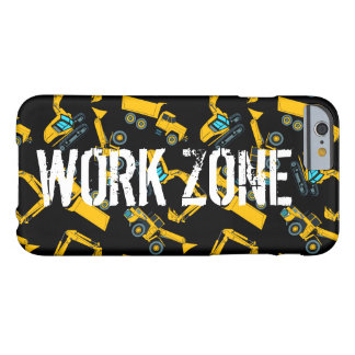 Construction vehicles barely there iPhone 6 case