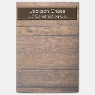 Construction Wood Grain Post-it® Notes
