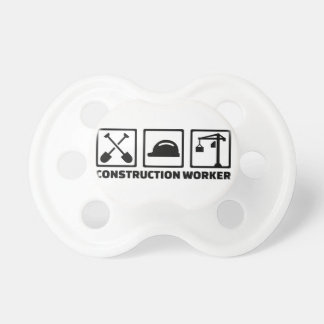 Construction worker pacifier