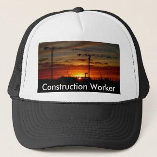 Construction Worker Trucker Hat