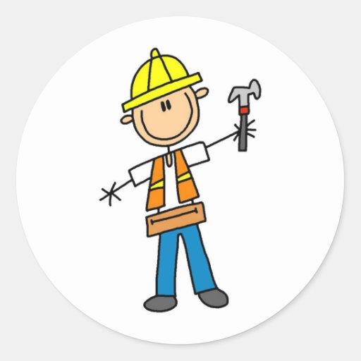 Stick Figure Construction Worker Quotes