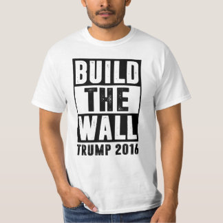 Construisez le mur - l'atout 2016 tee-shirts