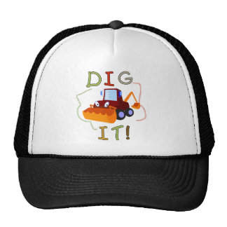 Constuction Vehicle Dig It Tshirts and Gifts Mesh Hat