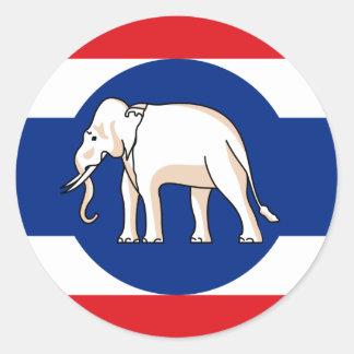 Consular   Thailand, Thailand Classic Round Sticker