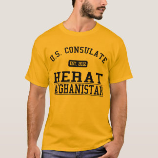 Consulate General Herat, Afghanistan T-Shirt