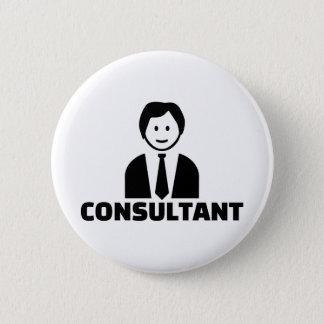 Consultant 2 Inch Round Button