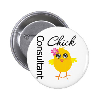 Consultant Chick Buttons