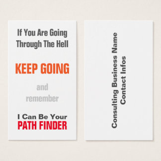 Consulting Business Business Card