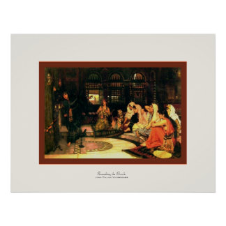 Consulting the Oracle ~ John William Waterhouse Poster