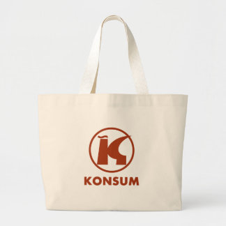 Consumption Large Tote Bag