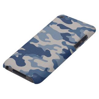 Contact bleu d'iPod de Coque-Compagnon de Camo Coque iPod Touch