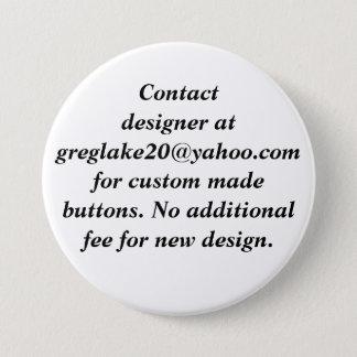 Contact Designer for Custom Made Buttons
