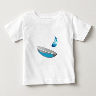 Contact lens with solution baby T-Shirt