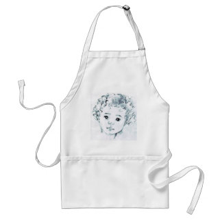 Contact me to create your portrait before ordering standard apron