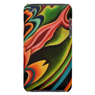 Contact tropical abstrait d'iPod de Coque-Compagno Coques Barely There iPod