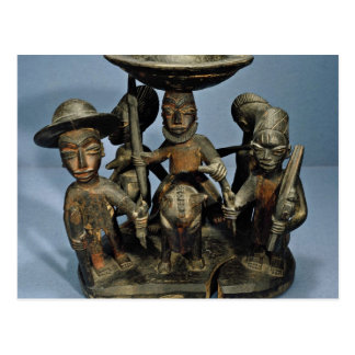 Container for divining equipment, Yoruba people, N Postcard