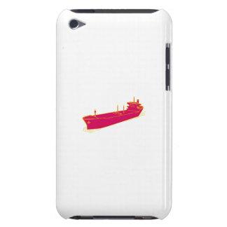 Container Ship Cargo Boat Mono Line iPod Case-Mate Cases